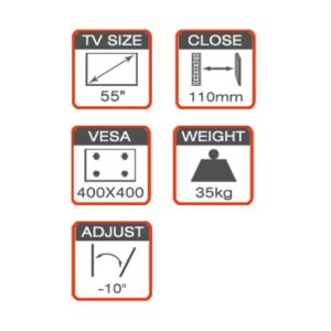 Full-Motion Mount Fit for 21-55′′ Plasma / LCD TV pictures & photos