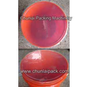 Automatic Paint Bucket Filling Sealing Capping Machine pictures & photos