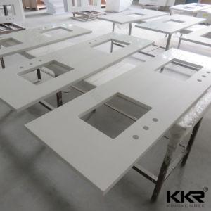 Customized Quartz Stone Kitchen Countertop pictures & photos