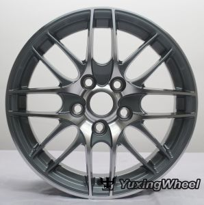 Matt Black Alloy Wheel Car Parts 15 Inch with ISO/Ts 16949: 2009 pictures & photos