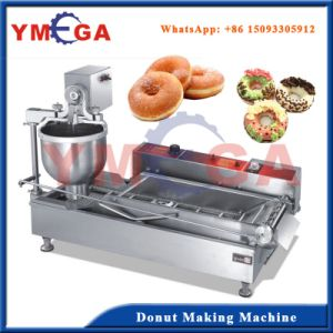 Factory Direcly Supply Stainless Steel Automatic Gas Donut Machine pictures & photos
