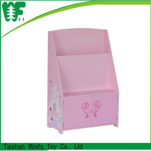 Hot-Sale Pink Bedroon Furniture Book Shelf pictures & photos
