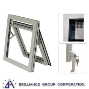 Double Glazed Insulated Aluminum Alloy Window Hot Sale Double Glazed Aluminum Window Rubber Seal pictures & photos