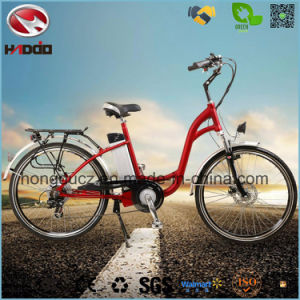 Alloy Frame 250W Hydraulic Front Fork Electric City Road Bike pictures & photos
