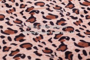 Polyester Printed Flannel/Coral Fleece Blanket - Leopard Print pictures & photos