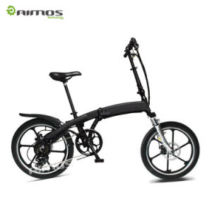 20′′*1.95 Super Light Folding E Bicycle pictures & photos