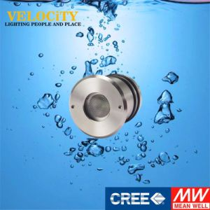 DC24V RoHS Approved Stainless RGB Control CREE LED Swimming Pool Light pictures & photos