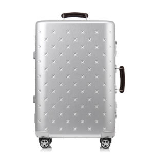 Aluminium Frame Luggage and Trolley of ABS and PC pictures & photos