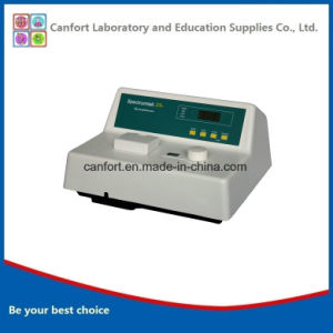 Medical Equipment Vis Spectrophotometer S23A for Laboratory and Testing pictures & photos
