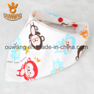 Manufacturer Hot Sell Cotton Soft Baby Bandana Baby Bib pictures & photos