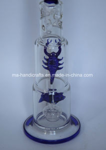 """16"""" Ice Pinches Glass Water Pipes with Fish and Scorpion Perc pictures & photos"""