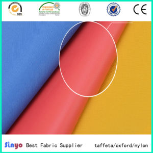 Popular Sold Oxford 300*150d PVC Coated Fabric for Pakistan Market with Cheap Price pictures & photos