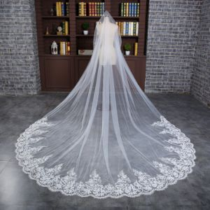Wedding Veil 3 Meters 1 Layer Tulle/Lace 2017 New Arrival pictures & photos