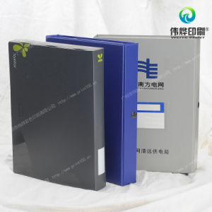 Various Gift Plastic / PP / PVC Office Printing Supply Paper Packing Folder / Box pictures & photos