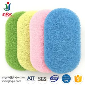 Scouring Pad Factory Offer OEM Colorful Bath Non-Scratch Scouring Pad pictures & photos