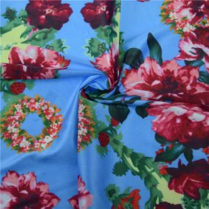 Custom 100% Silk Fabric Digital Textile Printing (TLD-0055) pictures & photos