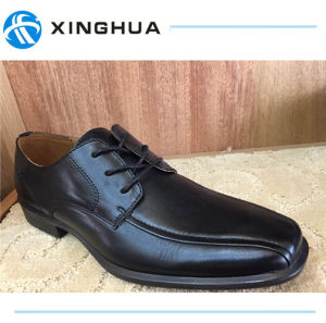 Genuine Leather Quality Men Office Shoes pictures & photos