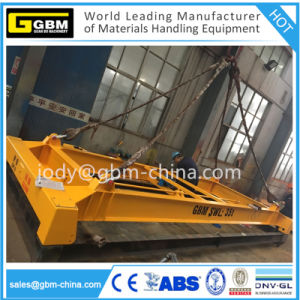 ISO Semi Automatic Container Spreader for Lifting Beam pictures & photos