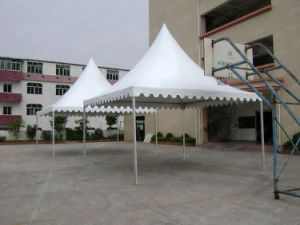 Wholesale Aluminum Frame Cheap PVC Luxury High Peak Pagoda Tent pictures & photos