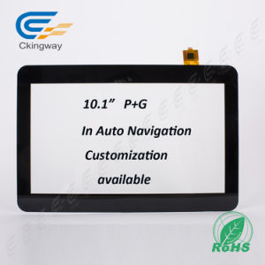 High Resolution 1024*600 10.1 Inch Projection Capacitive Display Touch Panel pictures & photos