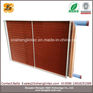 Blue Fin Copper Evaporator Coil for Air Conditioner pictures & photos