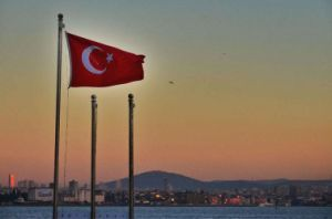 Custom Waterproof and Sunproof National Flag Turkey National Flag pictures & photos