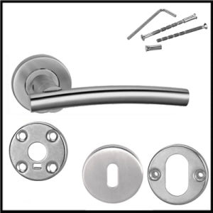 China Europen Type Hot Slae Stainless Steel Modern Commercial Door Hardware pictures & photos