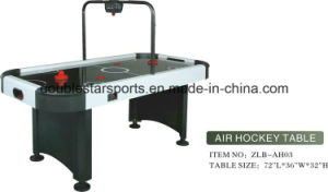 Classic Style 6FT Electronic Indoor Air Hockey Game Table pictures & photos