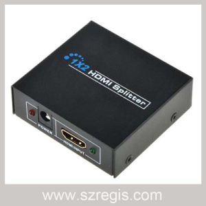 1X2 HDMI Splitter Support 1080P / 1920X1200 pictures & photos