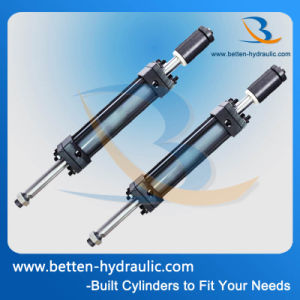 Piston Cylinder Structure and Double-Ended Hydraulic Cylinder for Forklift pictures & photos