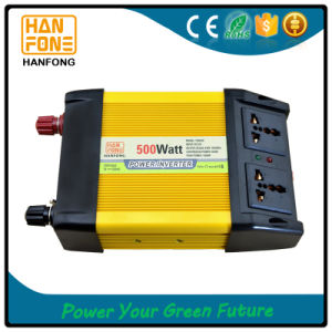 Micro Solar Power Inverter 500W on/off Grid Tie Solar Inverter pictures & photos