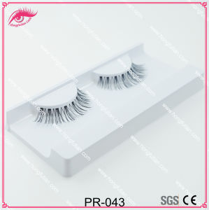 Human Hair Lashes with Wholesale False Eyelash Packaging pictures & photos