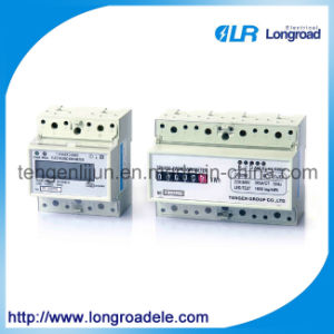 Model Dds2566 Series DIN-Rail Mount Kwh Meter (RS485/MODBUS/ Infrared communication) pictures & photos