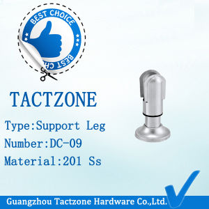 Factory Directly Toilet Partition Cubicle Fittings Zinc Alloy Support Leg pictures & photos