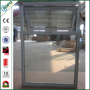 High Quality Popular UPVC Double Glazed Top Hung Awning Window pictures & photos