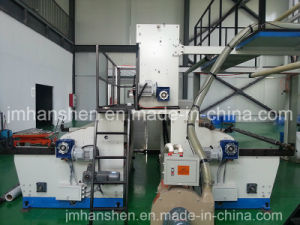 PE Plastic Film Making Machine with Double Rewinder pictures & photos