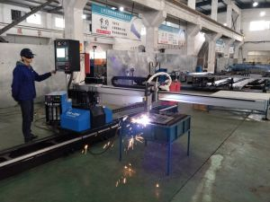 ZNC-2300D Portable CNC plasma flame oxy-fuel Cutting Machine for sheet metal pictures & photos