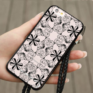 New Fashion Lace Flower Hollow Design PC Transparent Phone Case for iPhone 7 pictures & photos
