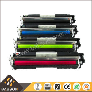 Factory Direct Sale Compatible Color Toner Cartridge for HP Ce310 Ce311A Ce312A Ce313A (126A) High Quality pictures & photos