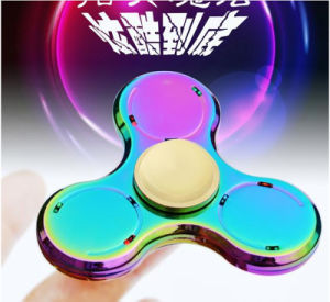 Bluetooth Mini Speaker Wheel Rolling Finger Spinner Hand Cube Metal Bluetooth Fidget Spinner pictures & photos