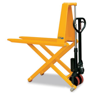 Hydraulic High Lift Scissor Pallet Truck pictures & photos