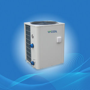 Vertical Type Air Water Swimming Pool Heater pictures & photos