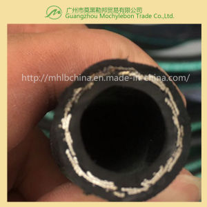 Steel Wire Braided Reinforced Rubber Covered Hydraulic Rubber Hose (SAE100 R1-5/8) pictures & photos
