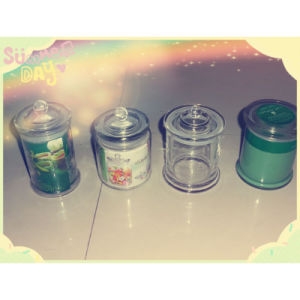 Scented Glass Jar Candle with Lid pictures & photos
