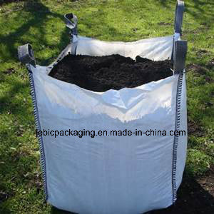 Top Open FIBC Big Bag for Coal with Flap pictures & photos