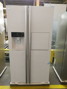 Bcd-550whit Double Door Refrigerator with Ice Maker pictures & photos