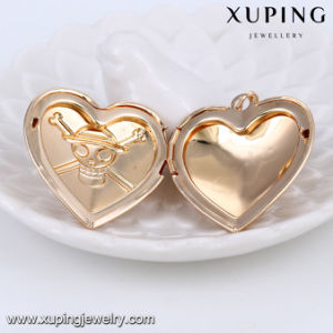32205 Fashion 18k Gold Skeleton Jewelry Necklace Pendant in Heart Shaped pictures & photos