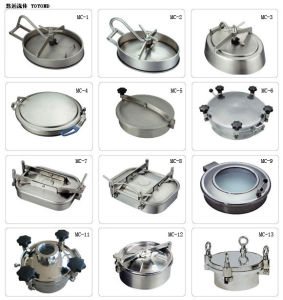 Sanitary Manhole Cover Handhole Manway Price pictures & photos