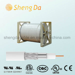 75 Ohm High-Frequency Transmission Line for CCTV and CATV Rg Coax Cable pictures & photos