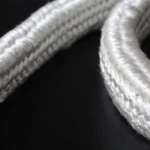 High Temperature Resistant Heat Insualtion Rectangular Fiberglass Braided Rope pictures & photos